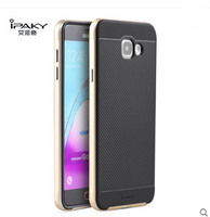 New arrival Ipaky brand PC bumper +TPU back case for samsung galaxy a5 2016 a510