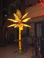 new product wholesale artificial led tree artificial led palm tree for decor