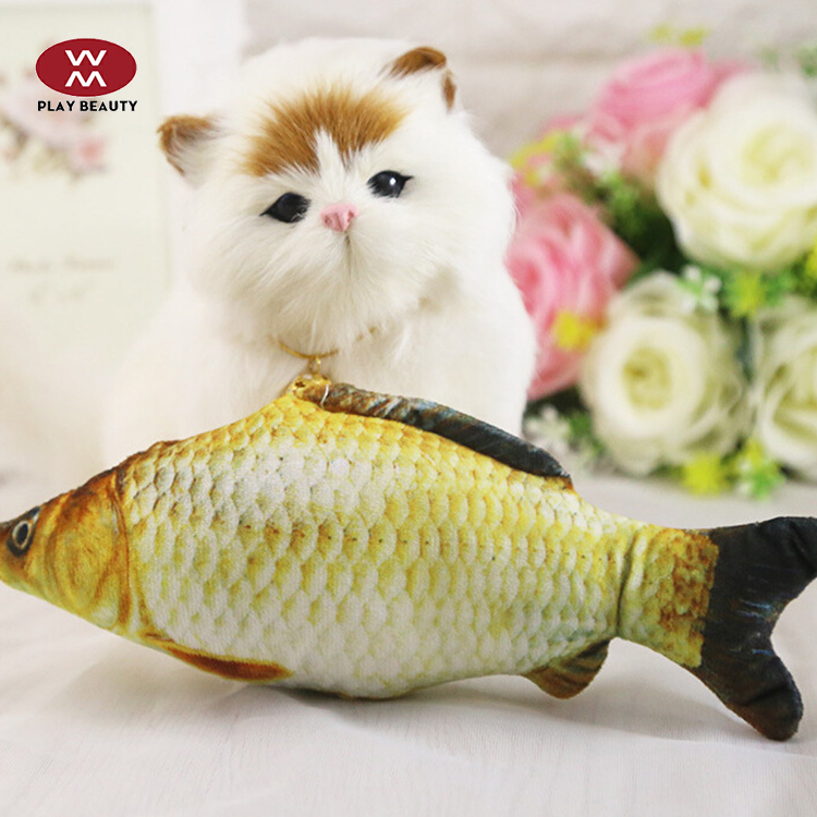 Plush Toy Factory Customrized Shape Color Plush Gifts Fish Toy For Children