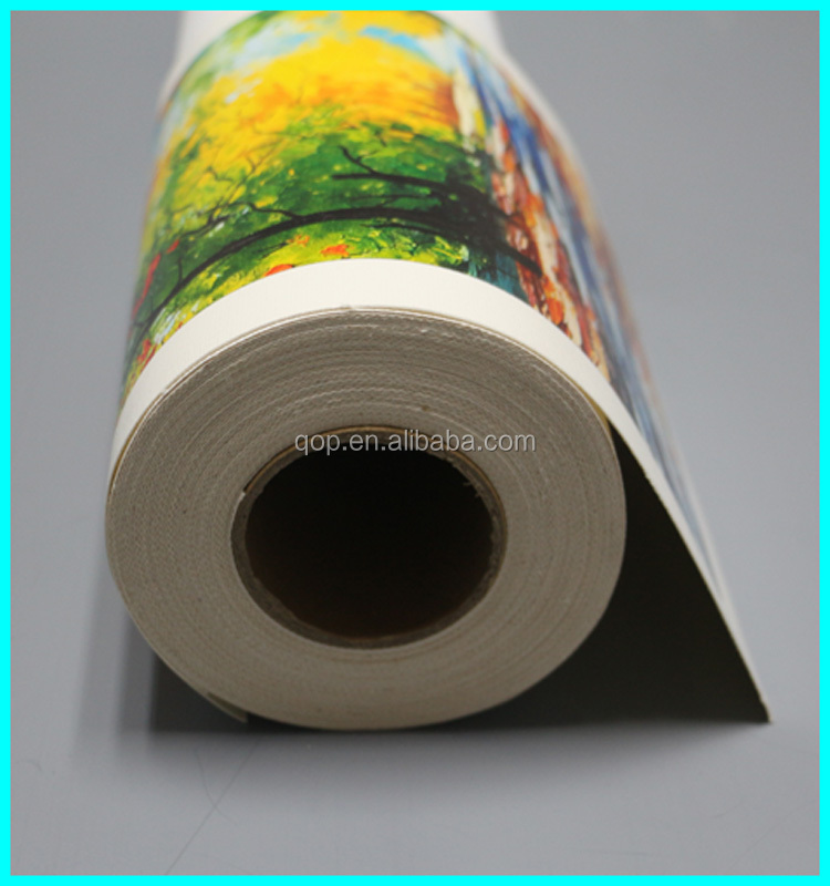 280gsm Matte coated waterproof photo cotton inkjet painting canvas
