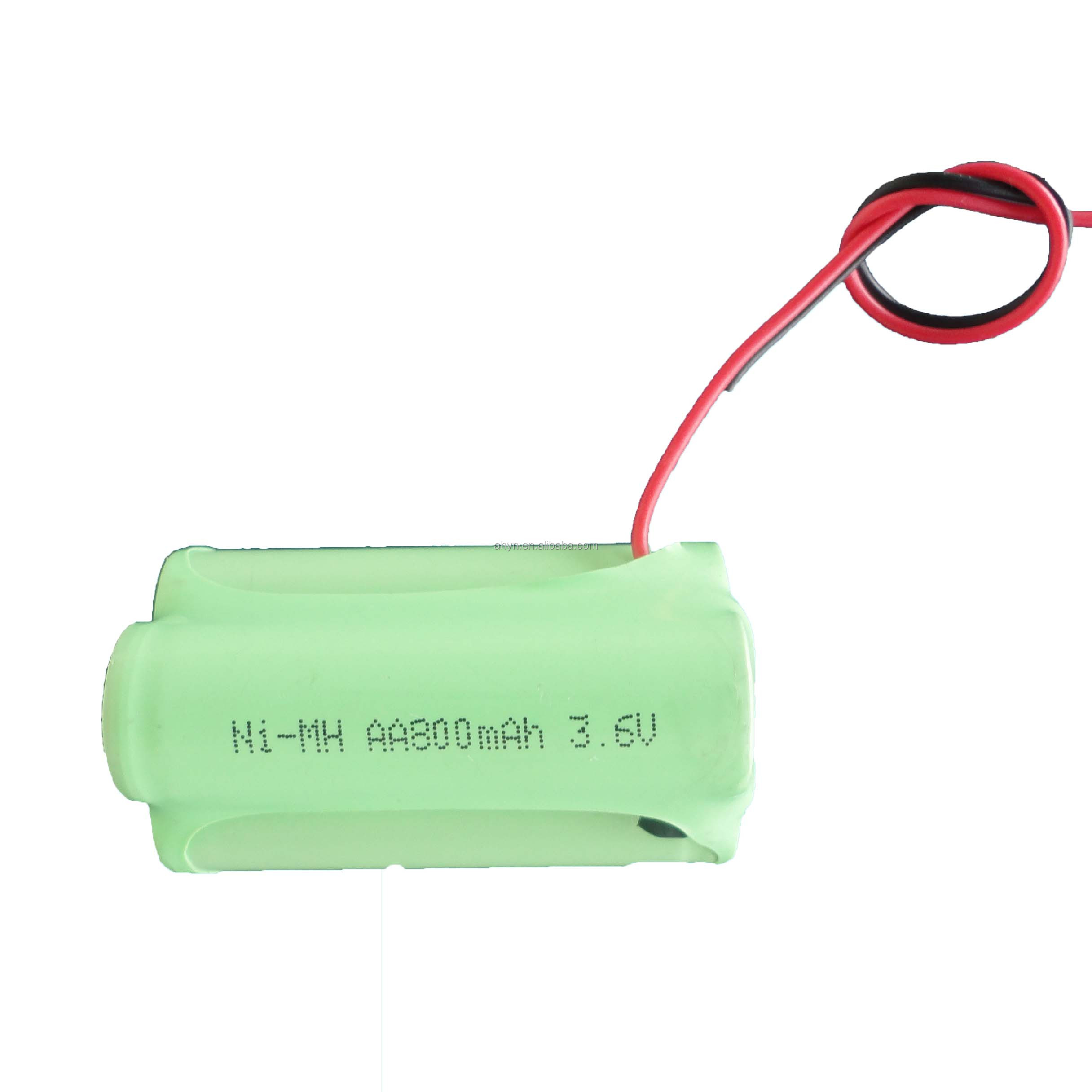 AA600mah rechargeable nimh 3.6V battery cell for emergency light