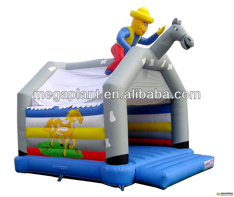 2014 hot selling Kids clown bounce house