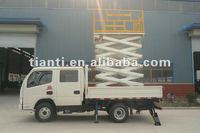 ISO9001:2008/CE certifiacte 4-20m Vehicle mounted elevating platform adjustable work platform