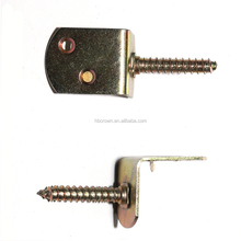 Decorative furniture flat bracket metal bracket wood connector
