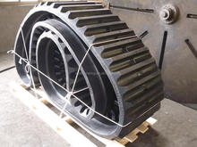 Rubber Track for C80R excavator 650 x 110 x 88