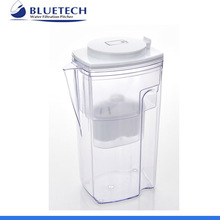 2.7 L High PH household Peony alkaline activated replacement carbon water filter pitcher water purifier for home