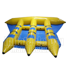 high quality 0.9mm PVC inflatable flying fish towable for sale