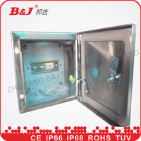 Stainless steel sheet electrical panel box IP66