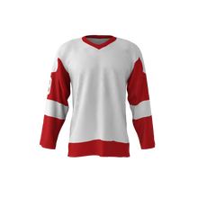 custom high quality v-neck ice hockey jersey 6xl made in china
