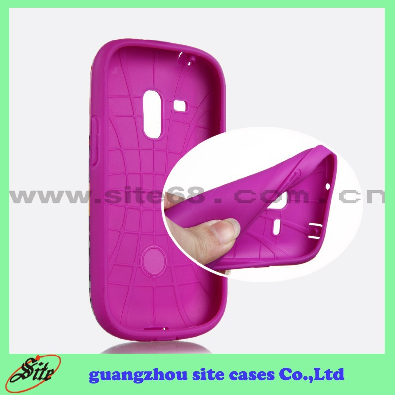 Hot Selling Mobile Phone TPU PC Cover for Samsung Galaxy S3 I8190 Combo Case
