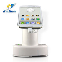 charge and security alarm display stand for mobile phone support