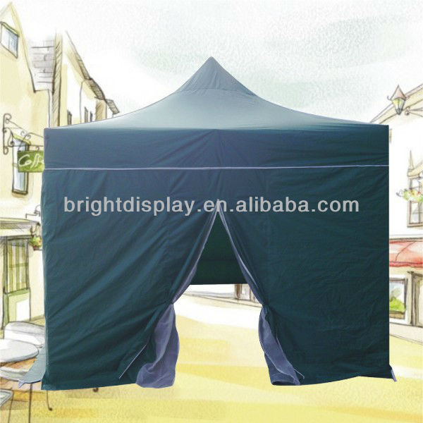 3x3 Folding Tent Canopy / Metal Pop Up Tent / Folding Canopy Shelter, Easy Up Tent, Custom Logo Printed Canopy Tent