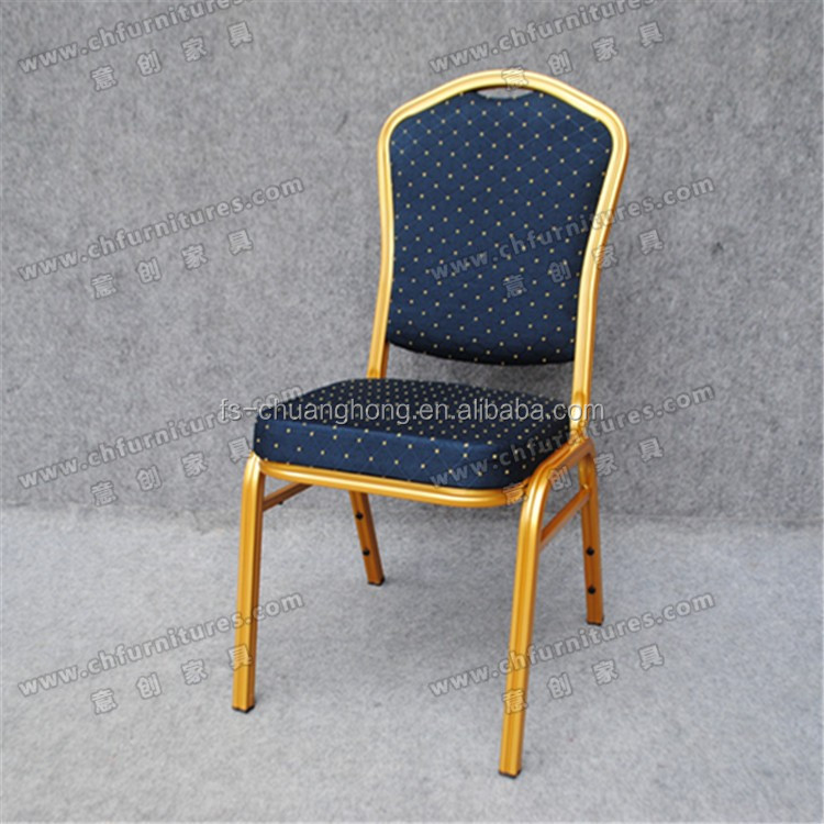 YC-ZG10-63 Antique industrial chairs with stackable design, banquet hotel firming chair