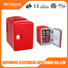 Antronic ATC-004 automobile home mini fridge and freezers 6 can red bull fridge