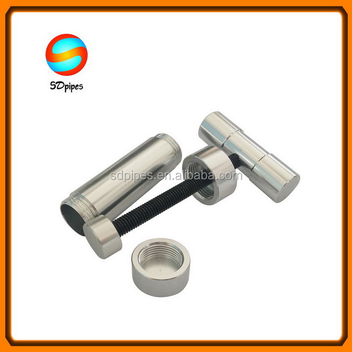 Small T-type Aluminum Hand Pollen Press Herbal Presser