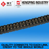 precision flexible roller chain with a2 attachments manufacturing processes