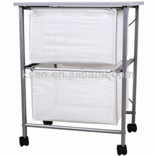 Two storage box trolly (KC-8066C2)