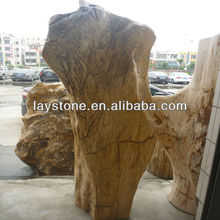 artificial wood carving