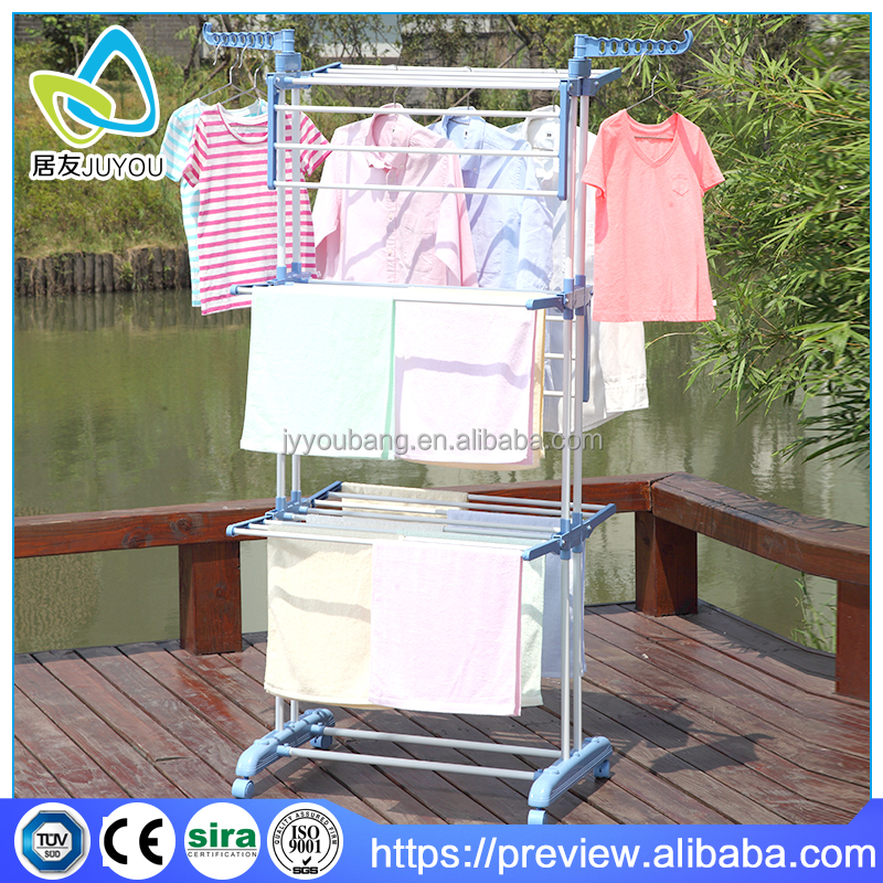 3 tier Home folding hanging clothes drying rack