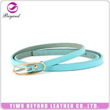 Top selling personalized trouser synthetic leather belt