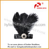 Alibaba China Manufacturer Factory B-19 Fashion Feather Crafts Customized Ostrich Feather Headdress