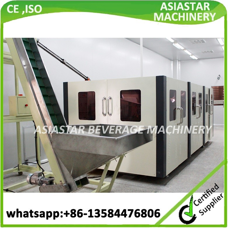 CE ISO approved plastic bottle making machine price