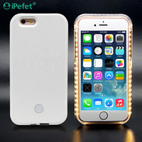 Led Flash Light Selfie Phone Case For iPhone 6,For iPhone 6 Led Flash Case
