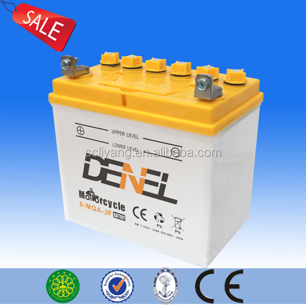 12N24-3A(12N24-4A) 12v22ah Batteries For 150cc Cargo Three wheel motorcycle battery