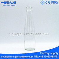 cheap price 600ml flint glass beer bottle