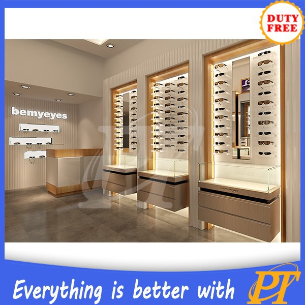 Eyeglass display cabinet optical display cabinets