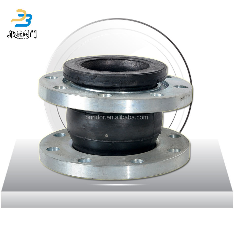 Single sphere expansion joint rubber pn16