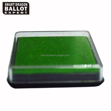 wholesale Pantone colorful mini sponge dry ink stamp pad for election and office