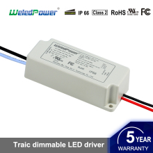 Led Down Light 100-132Vac Triac Dimming Led Power Supply Led Driver