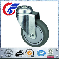 High Quality Small Metal Furniture Caster Wheel For Trolley