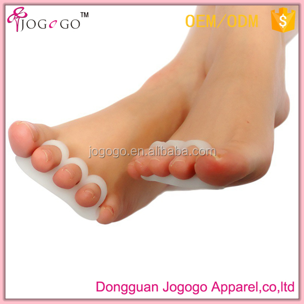 Toes spacers for hallux valgus silicone gel toe separators orthotics