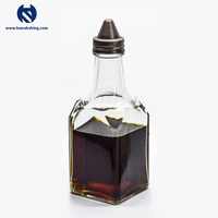 Hot-selling New Glass Coating Oil Vinegar Set Salt And Pepper Cruet
