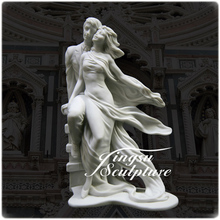 Professional Supplies Marble Sex Woman and Man Statue