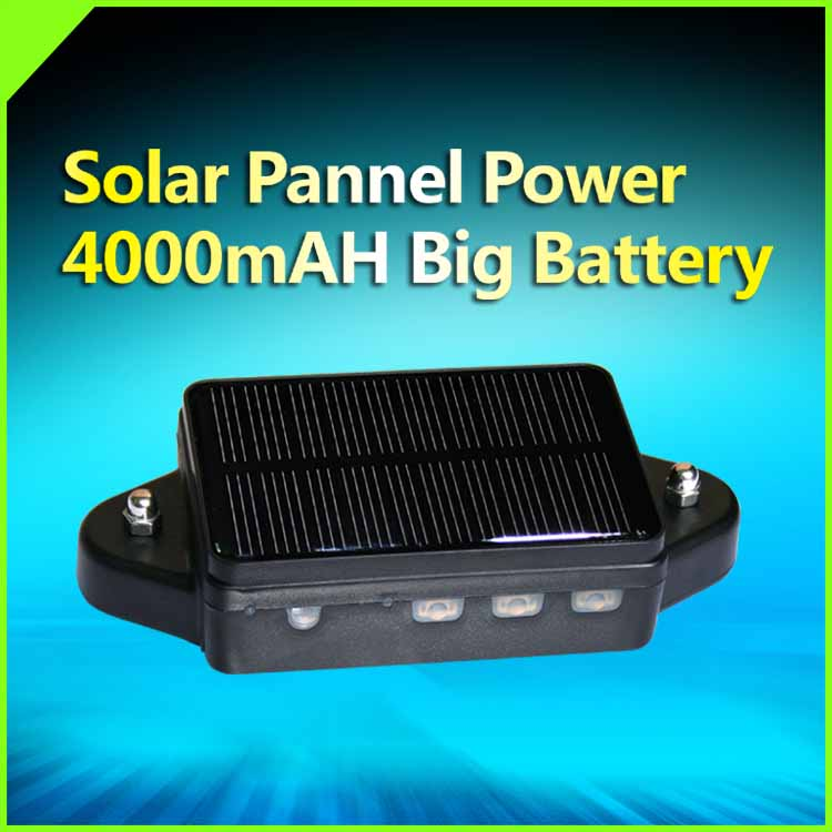 Solar Power Supply Gps Tracker & Waterproof &Strong Magnet