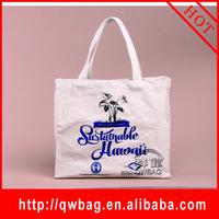 customized reusable canvas grocery shopping organic cotton bag