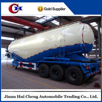 Cement Transportation Tri Axle 50 M3 60 Ton Bulk Cement Semi Trailer