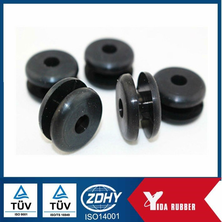 connect seals rubber grommet for pvc pipe/Clear rubber or silicone grommet for small diameter cables
