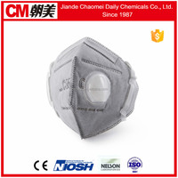 CM wholesale price N95 white fold flat respirators with CE certification
