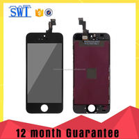 China manufacturer price smart phone parts full set lcd display with digitizer touch for iPhone 5S.