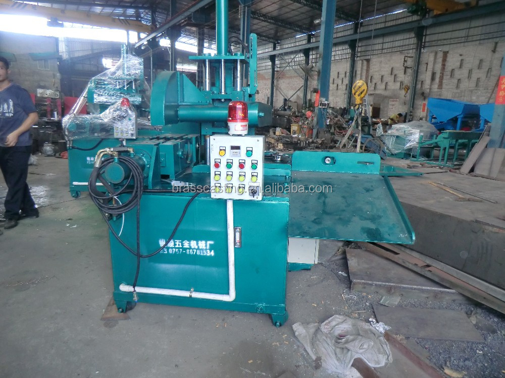 low cost hydraulic cutting machine for brass rod