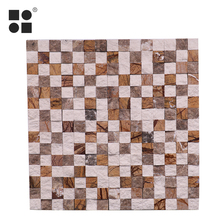 hot sell flower marble wall mother of pearl mosaic tile