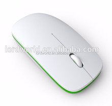 welcome OEM 2.4Ghz silm wireless mouse for ipad/iphone/PC