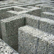 Low price 3mm diameter square galvanized welded gabion box