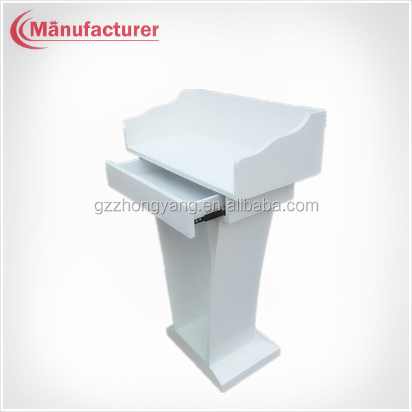 Portable Tabletop Lectern Church Smart Lecture Stand,Classroom Lectern Podium