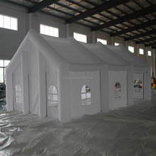 Trade Show white big outdoor inflatable party tent Inflatable tent