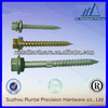 high quality self tapping screw with rubber washer with low price